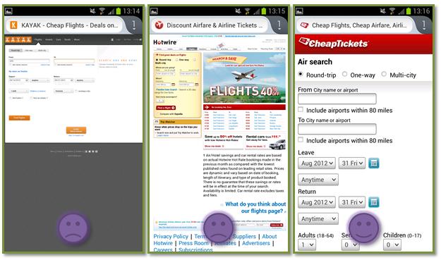 sito mobile esempio