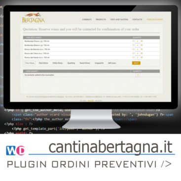 wordpress plugin preventivo ordini prodotti
