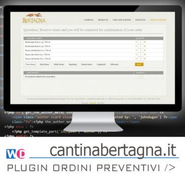 wordpress plugin preventivo ordini prodotti