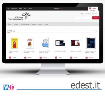 ecommerce per libri e gadget a Roma - WordPress