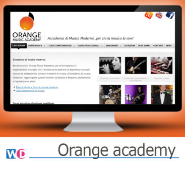 sito web per accademia Wordpress